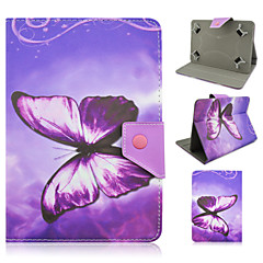 Butterfly Pattern High Quality PU Leather with Stand Case for 7 Inch Universal Tablet