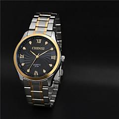 Aidu New Man's High Quality Steel Belt Quartz  Waterproof Watch Cool Watch Unique Watch