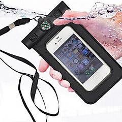 água bússola saco mergulho prova para iphone4 4s 5 5s portáteis bolsa impermeável ao ar livre