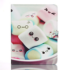 Cotton Candy Pattern PU Leather Full Body Case With Stand for iPad 4/iPad 3/iPad 2