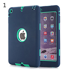3 in 1 Combo Wave Pattern PC & Silicone Case with Stand for iPad mini 1/2/3