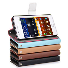 UWEI PU Wallet Full Body Case With Stand for Samsung Galaxy S2