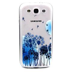 bule akrylowe mniszek wzór etui TPU Samsung Galaxy s3 w / galaxy S4 / S5 galaxy / galaxy S6 / galaxy s6 krawędzi