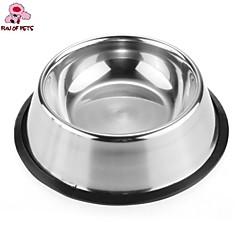 divertimento di Pets® alta qualità in acciaio inox Ciotola antisdrucciolevole per gli animali domestici (formati assortiti)