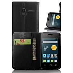 lichia em torno impasse aberto telefone coldre apropriado para Alcatel pixi 3 (3.5) 4009e ot (cores sortidas)