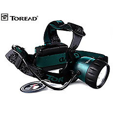 Toread El1270 3 Modes 3xCree Headlamp(3xAA,Green)