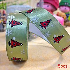 5pcs Silk Tape Christmas Tree on Christmas Diy Tape Birthday Dots Christmas Cartoon