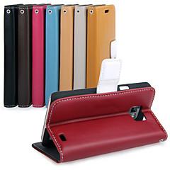 uwei koskinn plånbok full kroppsfodral med ställ för Samsung Galaxy S2