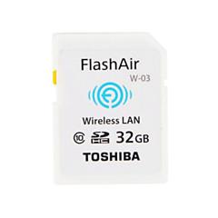 원래 도시바 32 기가 바이트 CLASS10의 flashair 와이파이 SDHC 메모리 카드 무선