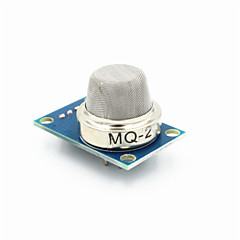 FC-22-palny moduł czujnika gazu MQ-2 skroplonego gazu / propan - niebieski + srebro