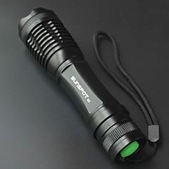 LED - 캠핑/등산/동굴탐험 / 일상용 / 사이클링 / 여행 / 일 / 야외 - LED손전등 / 손전등 ( 조절가능한 초점 / 충전식 / 슬립 방지 그립 / 높은 전력 5 모드 800 루멘 18650 크리T6 배터리 기타 E6
