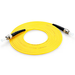 Shengwei®  ST(UPC)-ST(UPC) Simplex Single-Mode Fiber Patch Cord 3M/5M/10M