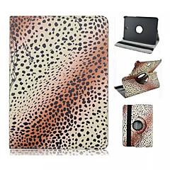 pattern pontos preto pu couro caso de corpo inteiro com suporte para Samsung Galaxy Tab 8.0 s2 T715 / guia s2 9,7 t815