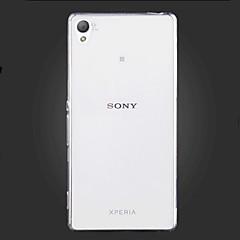 Voor Sony hoesje / Xperia Z5 / Xperia Z3 Ultradun / Transparant hoesje Achterkantje hoesje Effen kleur Zacht TPU voor SonySony Xperia Z5