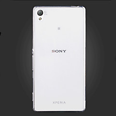 För Sony-fodral / Xperia Z5 / Xperia Z3 Ultratunt / Transparent fodral Skal fodral Enfärgat Mjukt TPU för SonySony Xperia Z5 / Sony