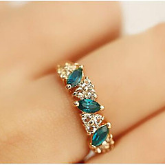 MISSING U Alloy / Rhinestone Ring Statement Rings Daily / Casual 1pc
