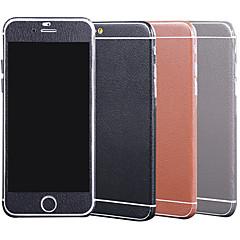modèle en cuir de vente chaud corps entier garde de l'autocollant de décalque de film pour iphone 6 plus / 6s iphone et plus (couleurs