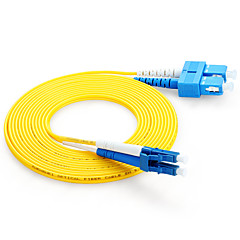 Shengwei® SC(UPC)-LC(UPC) Simplex Double Core Fiber Patch Cord 3M/5M/10M