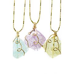 beadia nuevos colgantes de cristal colgantes de joyería de moda de 26 mm en forma de diamante 1pc para el collar de 4 colores U-Pick