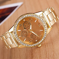 Women's Fashion Circular  Alloy  Quartz Watch(Assorted Colors)