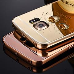 bling metalli alumiini metalliseos runko peili akryylimuovia takakansi suojakotelo Samsung S3 / S4 / S5 / S6 / S6 reuna / S6 reuna plus