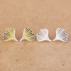 Sterling Silver Earring Stud Earrings Wedding / Party / Daily 2pcs
