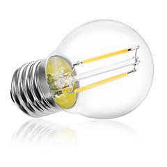 E26/E27 Ampoules Globe LED A60(A19) 2 LED Haute Puissance 250LM lm Blanc Chaud Blanc Froid Décorative AC 85-265 V 5 pièces