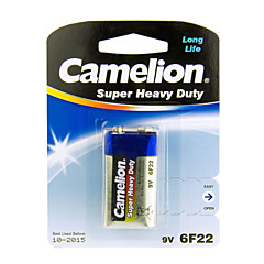 Camelion de super pesados baterias de pilhas tamanho 9v (1pcs)