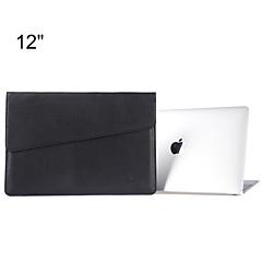 맥북에 대한 케이스 가방을 들고 봉투 디자인 슬림 PU 가죽 노트북 슬리브는 망막과 12 '를'프로