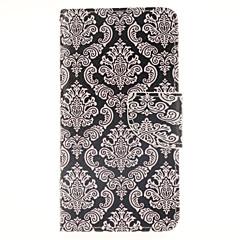 For Samsung Galaxy etui Kortholder Med stativ Flip Magnetisk Mønster Etui Heldækkende Etui Mosaik mønster Kunstlæder for Samsung A3