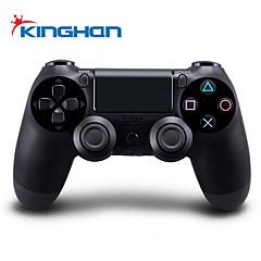 trådløs bluetooth gamepad game controller til PS4 (sort farve, fabrik-oem)
