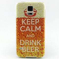 Корона буквы шаблон ТПУ материал телефон случае для Samsung Galaxy S3 / S4 / S5 / S6 / s3mini / s4mini / s5mini