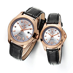 MEGIR Men and Women Watch Top Fashion Brand for Lover's Watches Waterproof Cool Watches Unique Watches