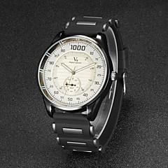 V6® Men's F1 Racing Design Rubber Strap Quartz Casual Watch Cool Watch Unique Watch