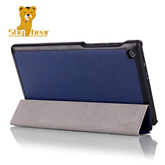 Shy Bear™ Leather Cover Stand Case for Lenovo Tab 2 A7-20 A7-20F Tablet