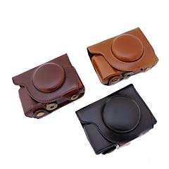 dengpin pu skinnkameraveske bag cover med skulderstropp for olympus SH-2 sh-1 (assorterte farger)