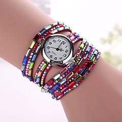 Mulheres Relógio de Moda Quartz Relógio Esportivo Couro Banda Pendente marca-