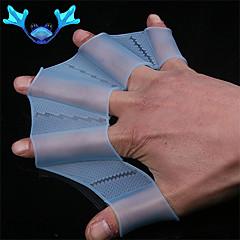 svømning gear fin hånd svømmehud svømmefødder silikone træningshandske Kvinder Mænd Børn svømmehud handsker til svømning