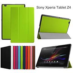 suojaava tabletti tapauksissa nahka tapauksissa kiinnike kotelo Sony Xperia Tablet Z4