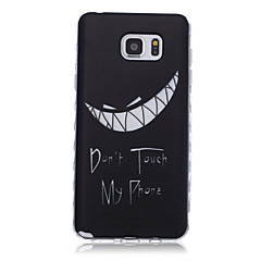 New Tooth Pattern Waves Slip Handle TPU Soft Phone Case for Galaxy Note 3/ Note 4/ Note 5