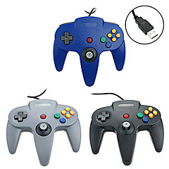 PC - # - PC-N64001 - Empuñadura de Juego - Metal / PVC / ABS - USB - Controles - PC