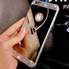 Voor iPhone 8 iPhone 8 Plus iPhone 7 iPhone 7 Plus iPhone 6 iPhone 6 Plus iPhone 5 hoesje Hoesje cover Strass Beplating Spiegel