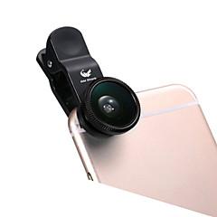 ABS Halszem-lencse Nagylátószögű lencse 10X és felett 180 Univerzális iPad Note 4 Note 2 iPhone 5 iPhone 6