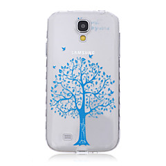 Tree Pattern Waves Slip Handle TPU Soft Phone Case for Galaxy S3/S4/S5/S6/S3 Mini/S4 Mini/S5 Mini/S6 edge/S6 edge+