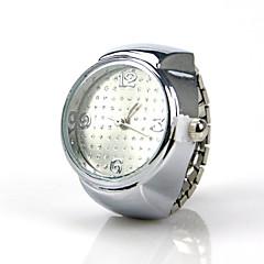 Heren Dames Uniseks Modieus horloge Kwarts Legering Band Zilver Zilver