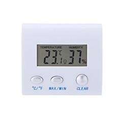 液晶デジタル湿度計、湿度計、温度計クロック自宅室内での使用