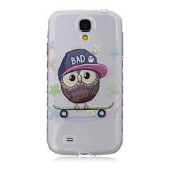 Varten Samsung Galaxy kotelo Kuvio Etui Takakuori Etui Pöllö TPU SamsungS6 edge plus / S6 edge / S6 / S5 Mini / S5 / S4 Mini / S4 / S3