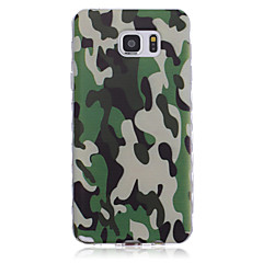 New Camouflage Pattern Waves Slip Handle TPU Soft Phone Case for Galaxy Note 3/ Note 4/ Note 5