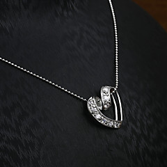 European and American fashion diamond pendant necklace Series 15 Wedding / Party / Daily / Casual 1pc