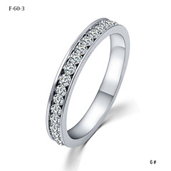 The Silver Crystal Diamond Promis rings for couples